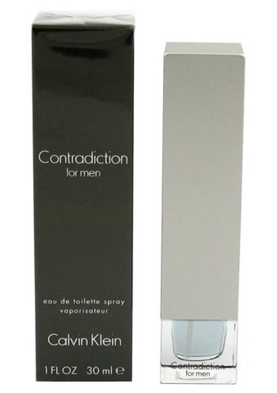 Eau de Toilette, Calvin Klein, Contradiction for men