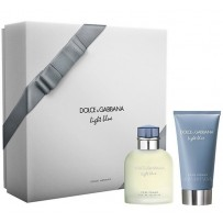 Dolce & Gabbana Light Blue Pour Homme Cadeauset EDT + Aftershave
